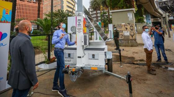 image for Primer policía robot de Medellín