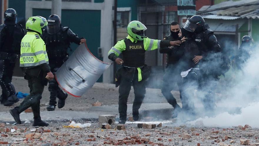 image for Corte Suprema pide informe al Gobierno por exceso de fuerza en protestas