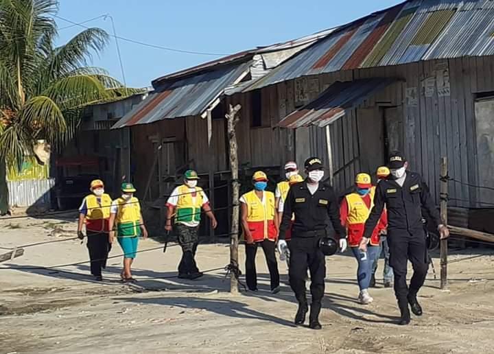 image for Personal de la comisaría de Punchana  realizan patrullaje