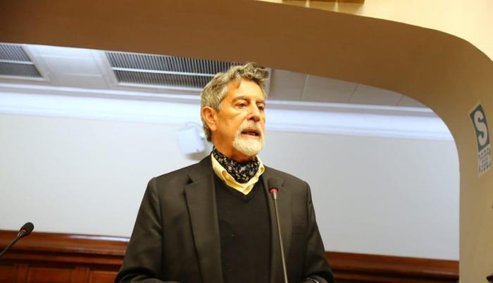 image for Presidente Francisco Sagasti será el primer vacunado