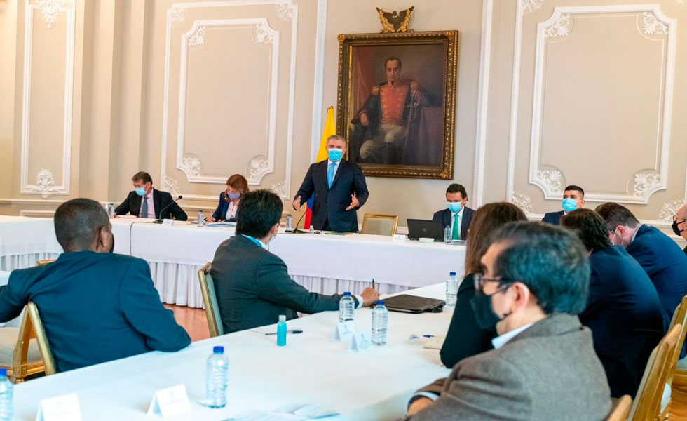 image for Comité Nacional de Paro y el Presidente Duque no llegan a un acuerdo