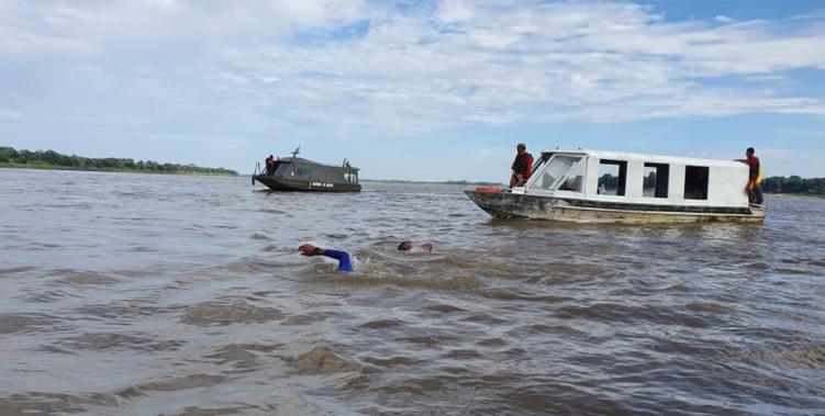 image for Triatleta Paulo Galvão percorre travessia a nado de Tabatinga a Benjamin Constant