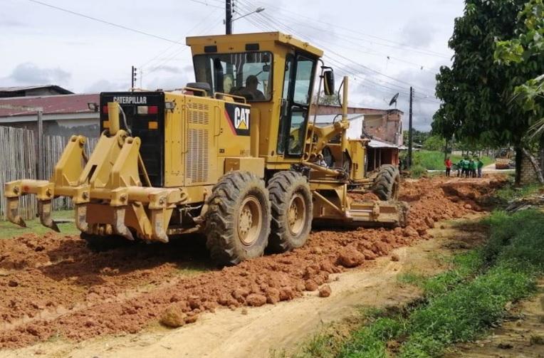 image for Prefeitura de Tabatinga deu início a mais uma obra de infraestrutura