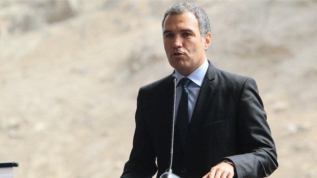 Salvador del Solar presidente del Consejo de Ministro de perno