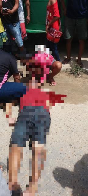 image for Homem alvejado com tiros no pescoço