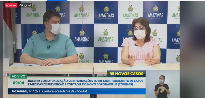 image for Amazonas soma 1206 casos do novo Coronavírus