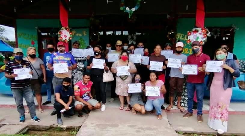 image for Prefeitura de Tabatinga entregou certificado aos artistas
