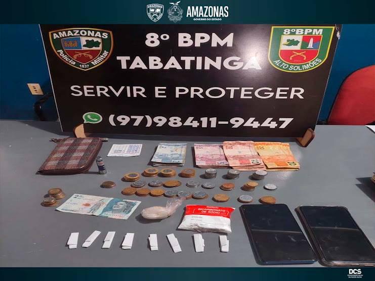 image for Polícia Militar detém cinco pessoas por tráfico de drogas em Tabatinga