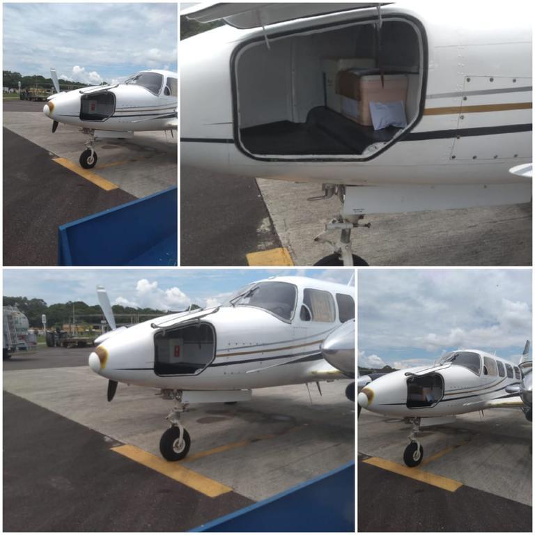 image for Prefeitura contratou vôo particular para levar as amostras coletadas