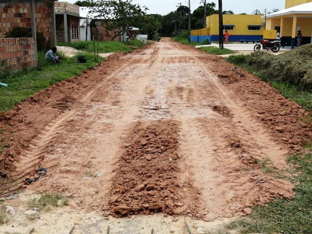 image for Terraplanagem no bairro Vila Paraíso