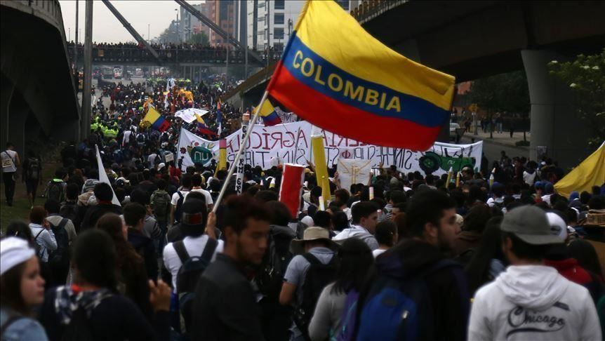 image for New day of national strike in Colombia