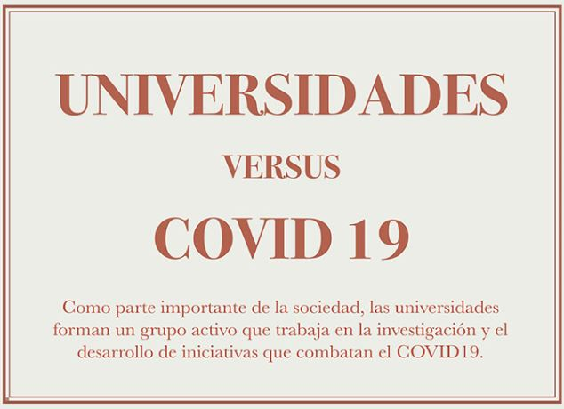 image for Universidades versus el COVID 19