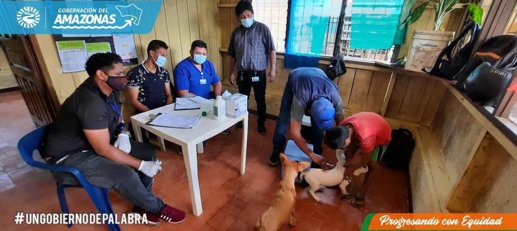 image for Grupo de zoonosis departamental realizó jornada de vacunación