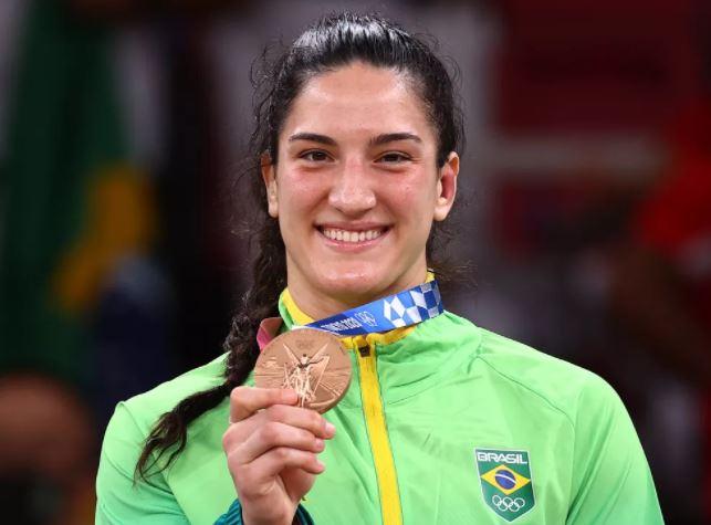 image for Mayra Aguiar bronze nas Olimpíadas de Tóquio