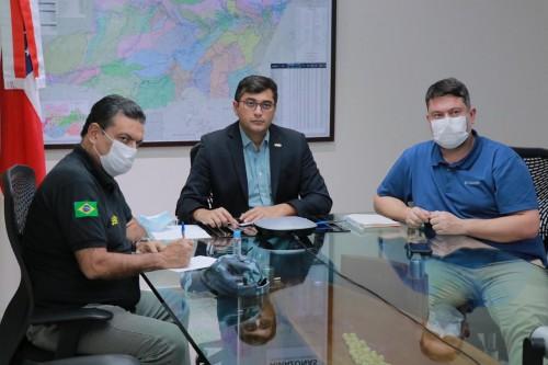 image for Coronavirus / Wilson Lima discute com membro do governo da Colômbia