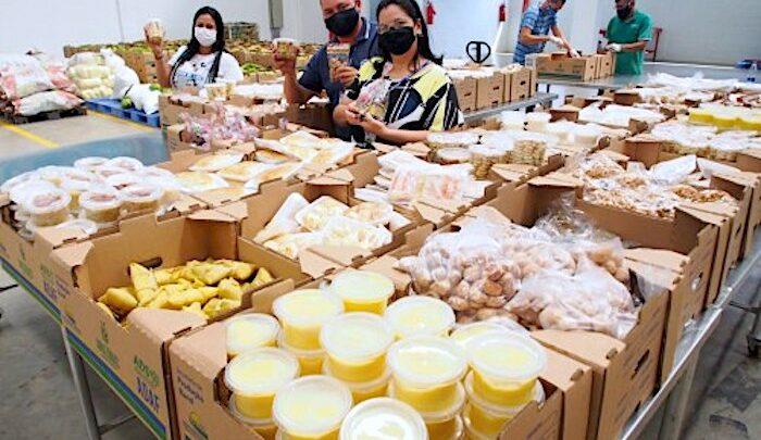 image for Entidades socioassistenciais receber os alimentos comprados e doados pelo Governo