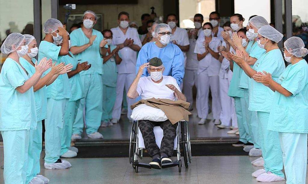 image for Brasil já tem mais de 14 mil pacientes CURADOS do coronavírus