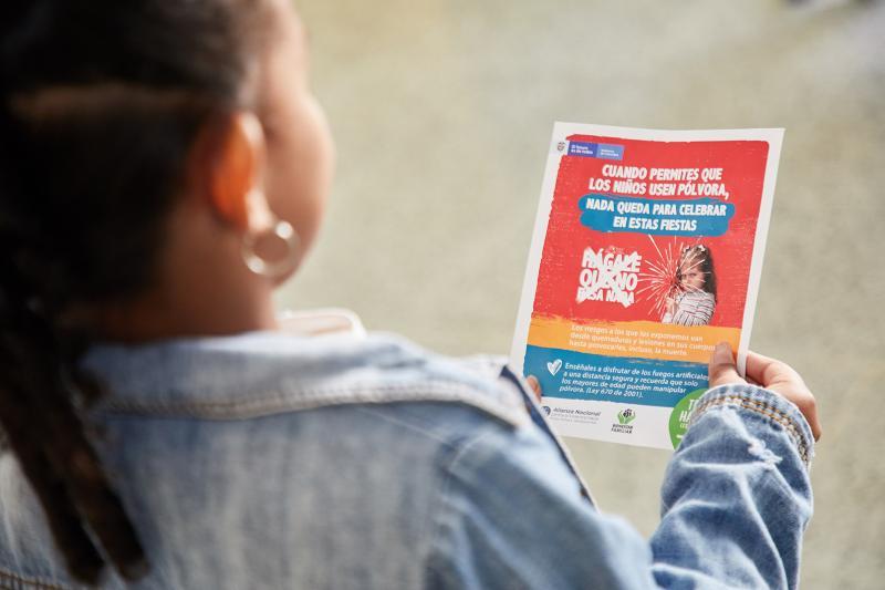 Casos de niños lesionados con pólvora disminuyeron un 25% con respecto a la navidad del 2018