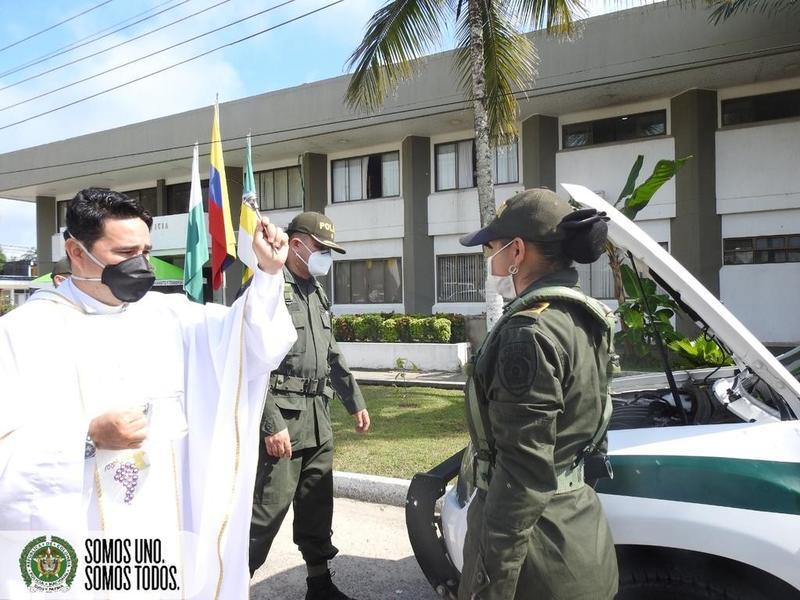 """POR MOTIVO DE LA PANDEMIA, ESTE DÍA TRADICIONAL COLOMBIANO DE """"LA PATRONA DE LOS CONDUCTORES"""" SE CONMEMORÓ DE MANERA ESPECIAL"""