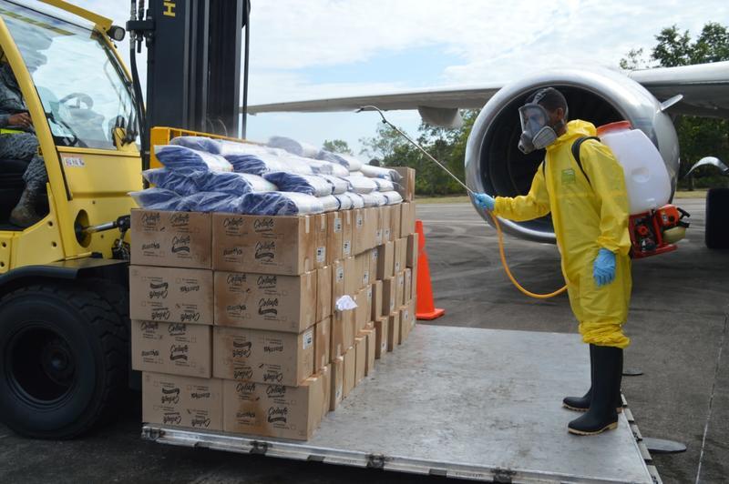 En el Día Mundial de la Asistencia Humanitaria, su Fuerza Aérea reafirma su compromiso con el país