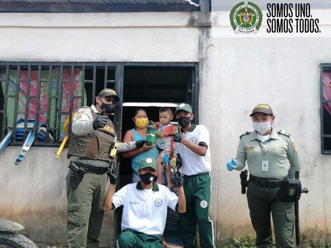 MAS DE 250 HOMBRES Y MUJERES DE LA POLICIA EN AMAZONAS, GARANTIZARON LA SEGURIDAD Y CONVIVENCIA EN EL DIA DULCE
