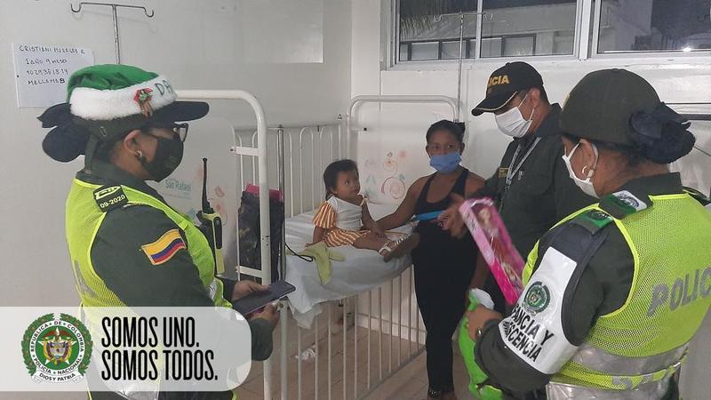 LLEVAMOS SONRISAS Y REGALOS A NIÑOS, NIÑAS Y ADOLESCENTES DEL HOSPITAL SAN RAFAEL EN LETICIA AMAZONAS