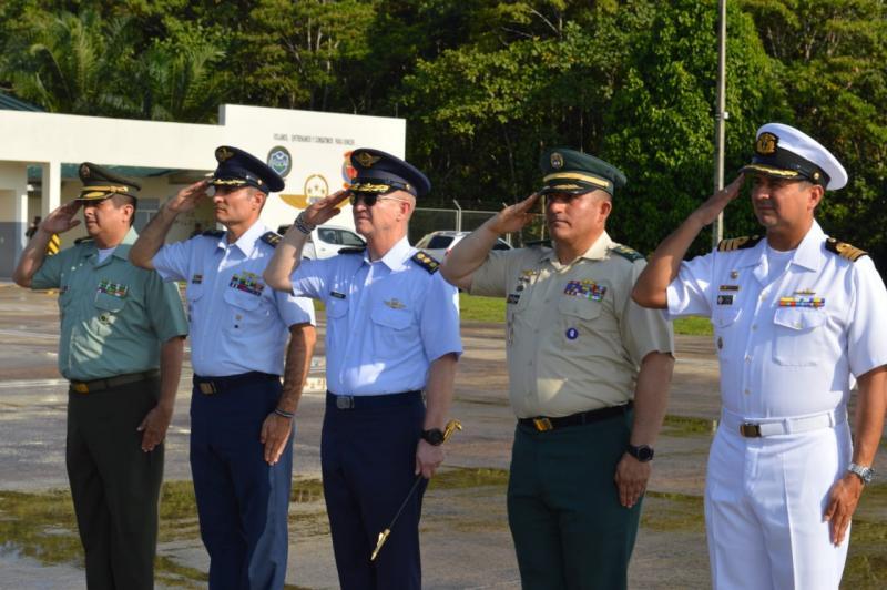Ceremonia militar de transmisión de mando del Grupo Aéreo del Amazonas