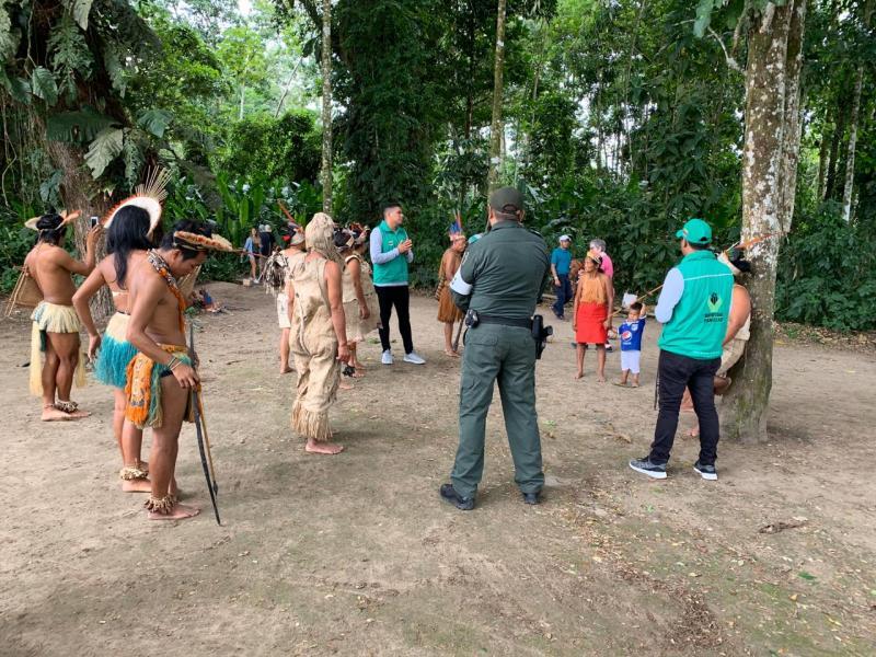 ICBF promueve la prevención del trabajo infantil en Isla de los Micos, Amazonas