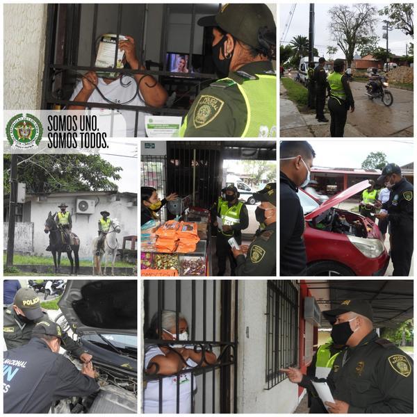 EL DEPARTAMENTO DE POLICÍA AMAZONAS, REALIZÓ COMANDO SITUACIONAL EN EL BARRIO SAN MARTÍN