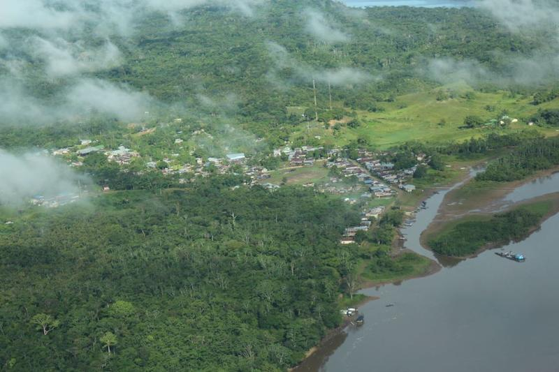 Incendian escuela de comunidad Indigena Tikuna