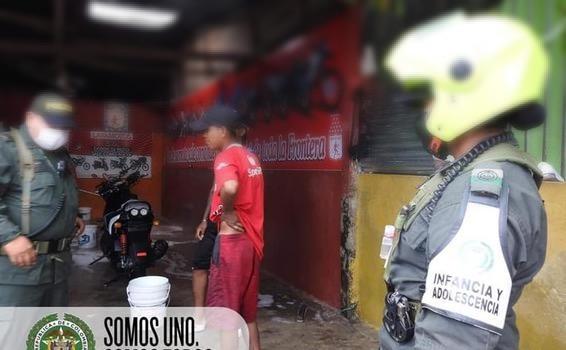 EL GRUPO DE PROTECCION A LA INFANCIA Y ADOLESCENCIA DEL DEPARTAMENTO DE POLICÍA AMAZONAS REALIZA EL PLAN DE VIGILANCIA Y CONTROL A LOS ESTABLECIMIENTOS ABIERTOS AL PÚBLICO