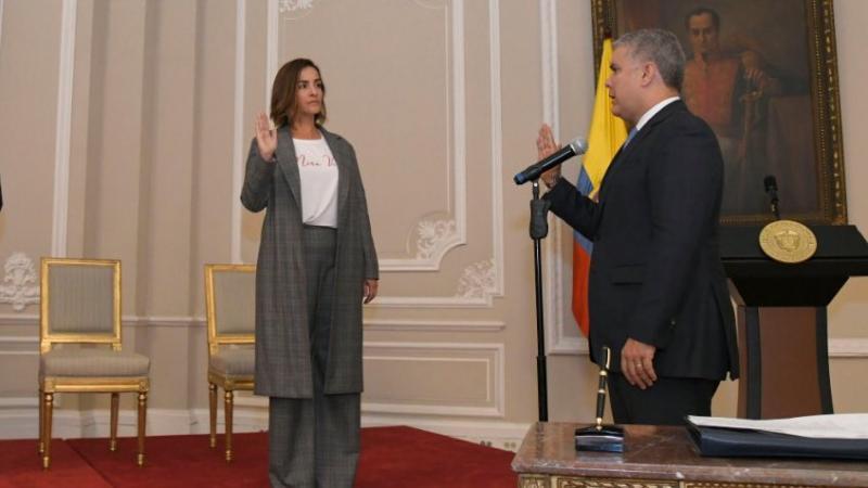 Lina María Arbeláez asume como Directora General del ICBF