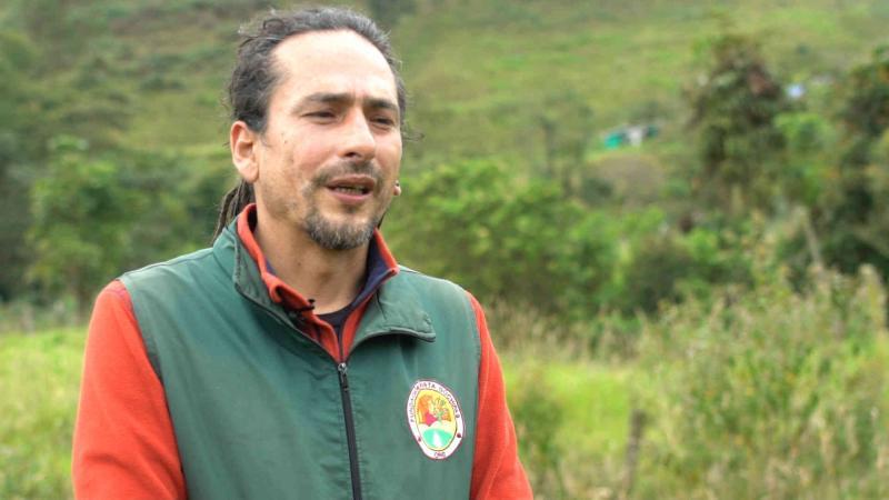 Freddy García director de la Fundación Gusta Guchipas