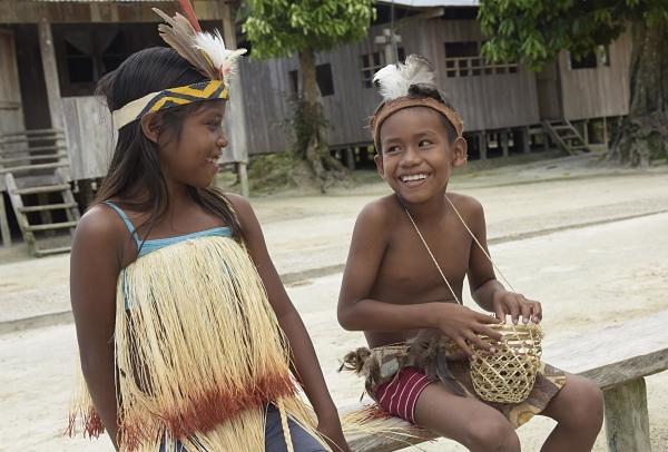 ICBF desarrolla proyectos de fortalecimiento con 280 familias étnicas del Amazonas