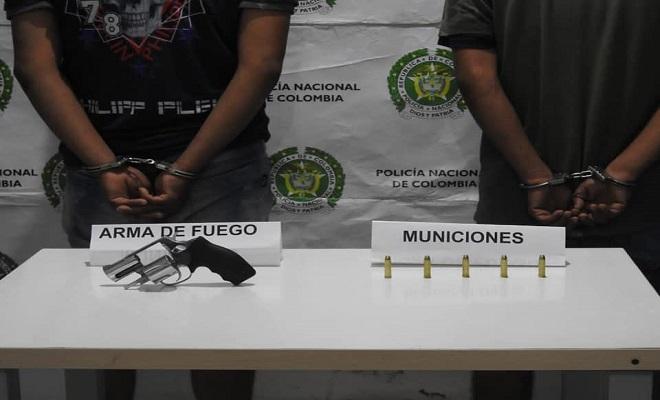 CIUDADANO BRASILERO Y PERUANO SON CAPTURADOS EN EL BARRIO HUMARIZAL DE LETICIA
