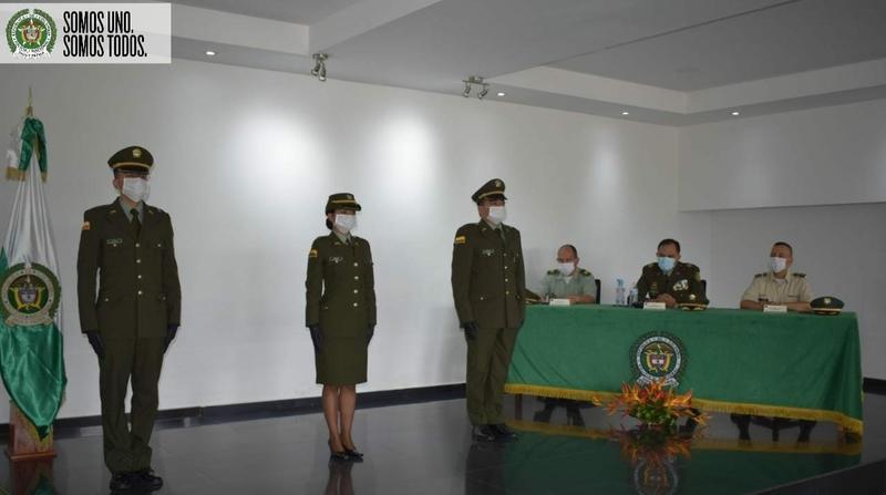 LA POLICÍA NACIONAL EN EL DEPARTAMENTO DE AMAZONAS ASCIENDE A UN PERSONAL DE OFICIALES EN CEREMONIA VIRTUAL