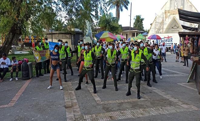 EN LETICIA REALIZAMOS LANZAMIENTO DE LA CAMPAÑA #ColombiaUnaRazón