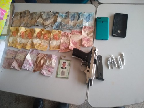 PM detém dupla por assalto no município de Benjamin Constant