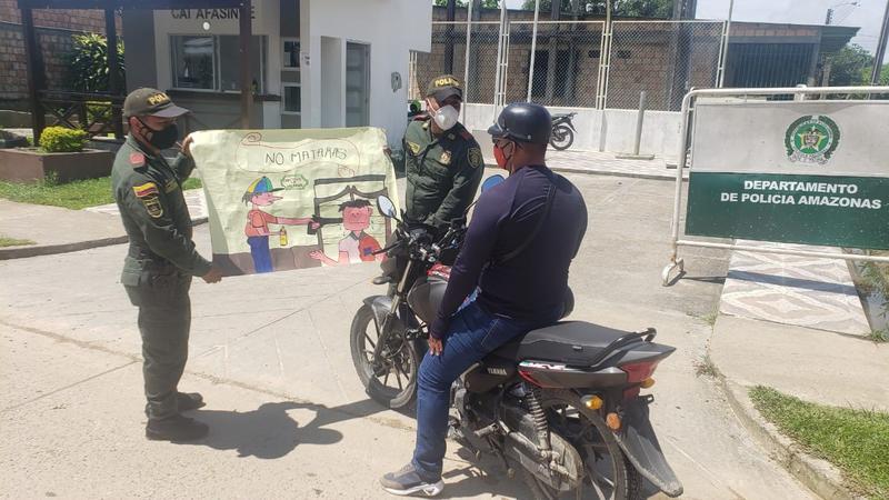 Policía Realiza Campañas Preventivas En Contra de las Lesiones Personales y El Homicidio