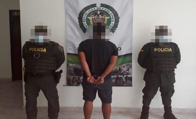 LA ESTACIÓN DE POLICÍA PUERTO NARIÑO, EFECTUÓ CAPTURA POR ORDEN JUDICIAL DE UN SUJETO POR EL DELITO DE HURTO AGRAVADO
