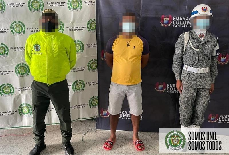 CAPTURAMOS A SUJETO CON CIRCULAR ROJA EXPEDIDA POR INTERPOL