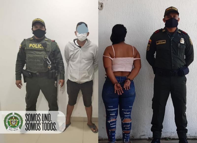 POLICÍA EN AMAZONAS CAPTURA DOS PERSONAS QUE HABRÍAN AGREDIDO Y LESIONADO A SUS COMPAÑEROS DURANTE LA CONVIVENCIA