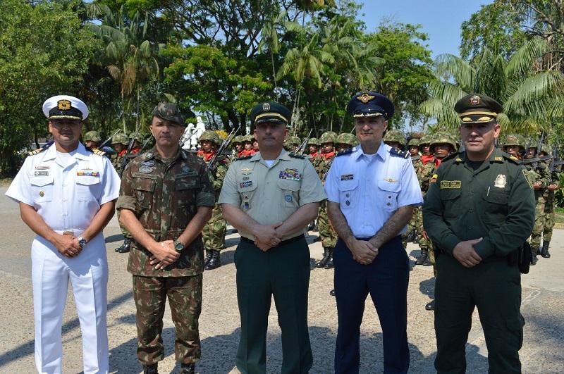 Con ceremonia militar se conmemora la Batalla de Boyacá en el Amazonas