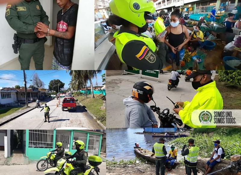 """EN EL AMAZONAS DESPLEGAMOS EL PLAN CHOQUE FASE VI """"CONSTRUYENDO SEGURIDAD"""" Y LA CAMPAÑA SOMOS UNO, SOMOS TODOS"""