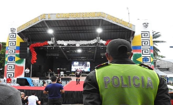 BALANCE DE SEGURIDAD DEL FESTIVAL INTERNACIONAL DE LA CONFRATERNIDAD AMAZÓNICA VERSIÓN NRO. 33