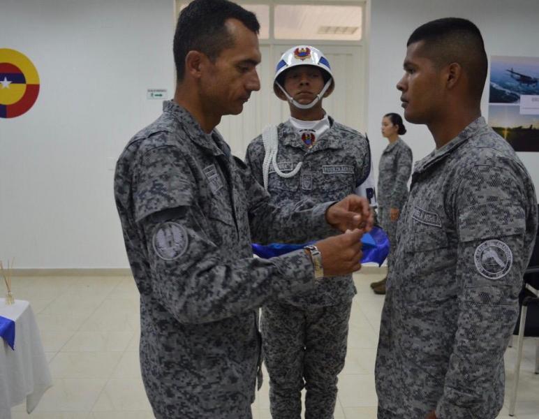 Con éxito, jóvenes bachilleres culminan su servicio militar en la Fuerza Aérea Colombiana