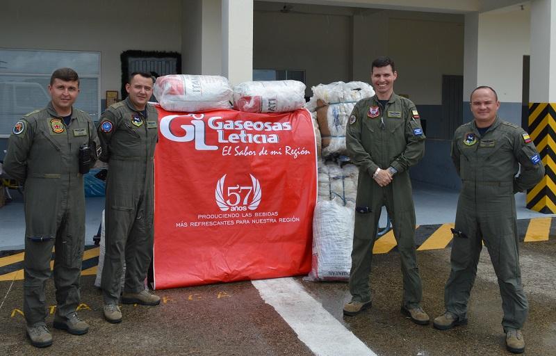 Con proyecto productivo Fuerza Aérea Colombiana, reitera su compromiso con la Amazonía