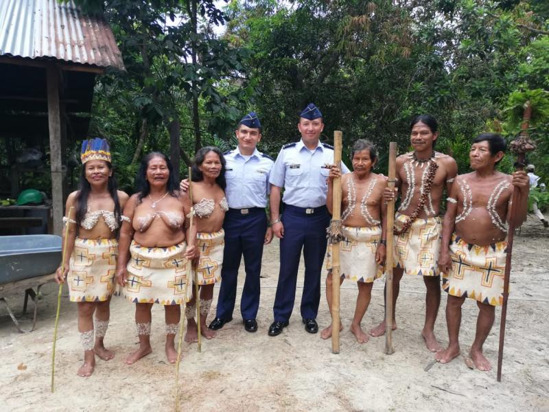 En escenario de participación la FAC estuvo presente en Maloka indígena de la comunidad Monilla Amena en el Amazonas
