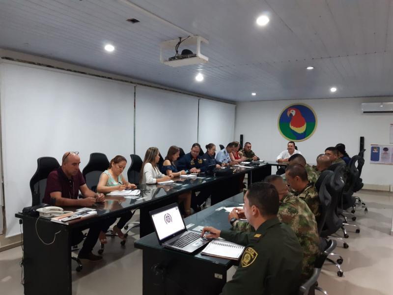 Fuerza Aérea Colombiana presente en escenarios de participación para garantizar la seguridad en el Amazonas