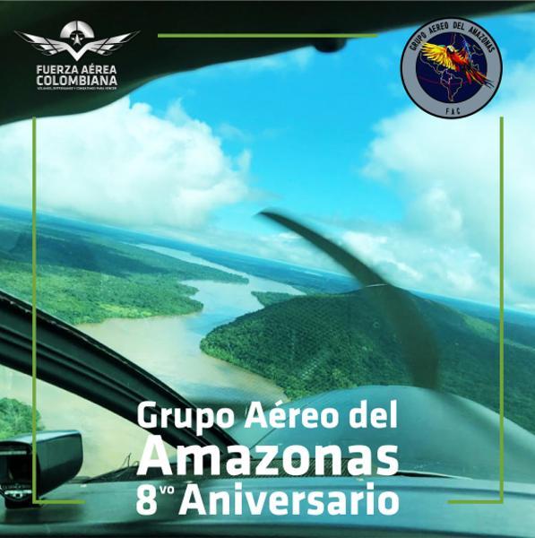 Grupo Aéreo del Amazonas, ocho años trabajando por la frontera sur del país